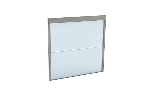 Fenêtre coulissantes à ouverture verticale - Ref Double Motion