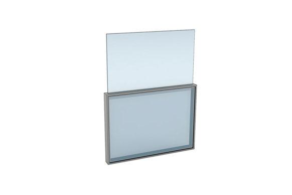 Fenêtre coulissantes à ouverture verticale - Ref Single Motion