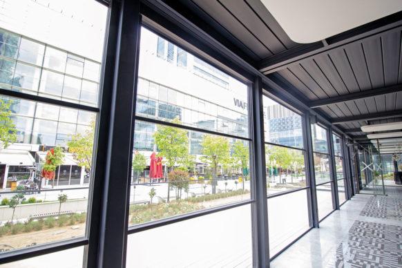 Fenêtre coulissante à ouverture verticale - Ref Triple Motion